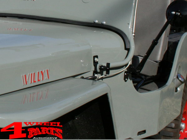 Jeep CJ2A CJ3A CJ3B Window Bracket New Old Stock