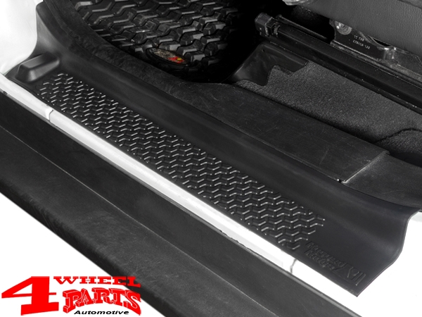 Entry Guard Set 2 pce. Black Thermoplastic Wrangler JL year 18-20
