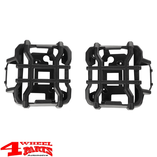 Tail Light Guards Pair Black Satin Elite Wrangler JL year 18-20