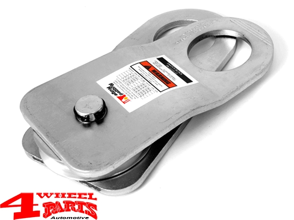 Snatch Block Pulley 13.600kg for Winches 228mm long