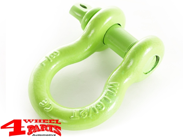 D-Ring Green 6.100 kg Ø 25mm