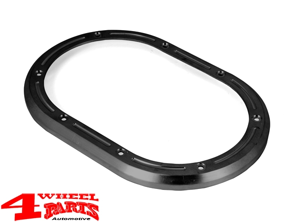 Black Aluminum Manual Transmission Shifter Bezel Wrangler JK year 07-10