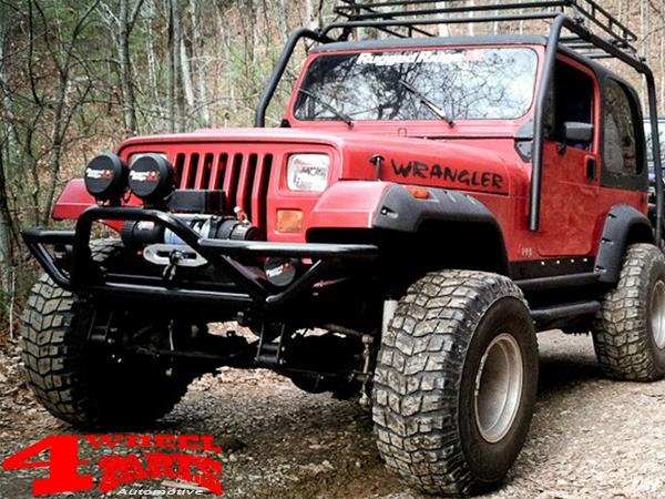 4 Wheel Parts | Frontbumper Winch Modular Bumper XHD Rock Crawler
