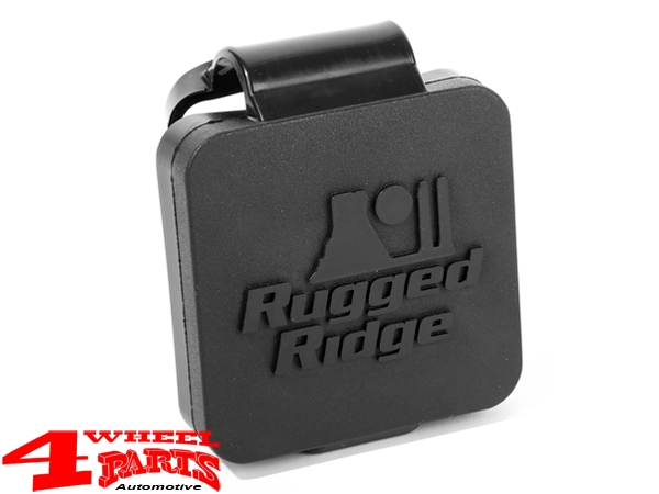 US Receiver Hitch Plug 2-Inch with Rugged Ridge Logo