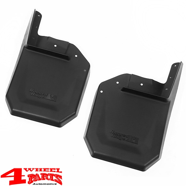 Splash Guard Pair Front Jeep Wrangler JK year 07-18