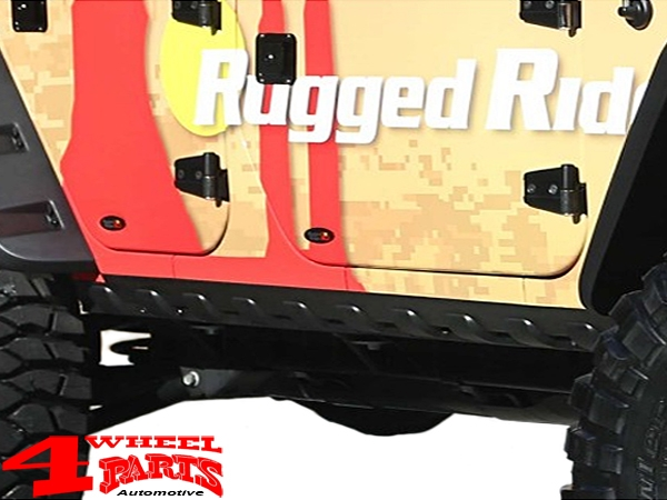 Body Rocker Guards Body Armor 2 pce. Wrangler JK year 07-18 4-doors
