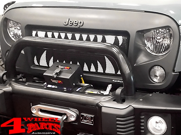 "Kühlergrill Frontmaske ""Spartan"" Land Shark Set JK Bj. 07-18"