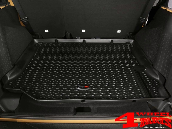 Floor Liner Set 3-pieces Black Wrangler JK year 11-18 2-doors