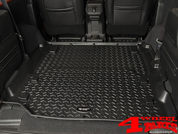 Floor Full Liner Set 3-pieces Black Wrangler JL 18-19 2-doors