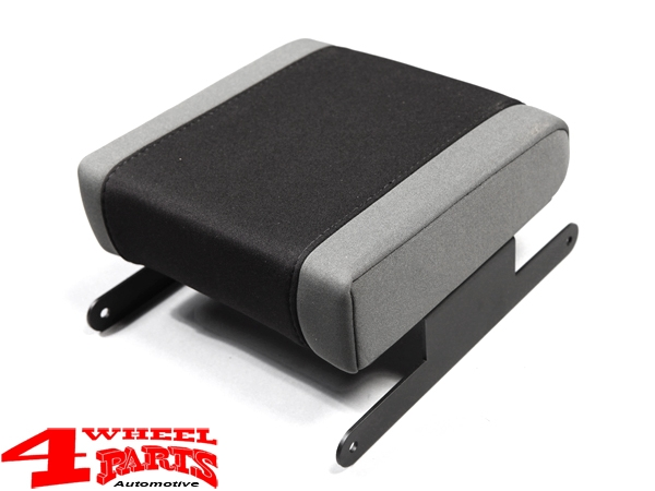 Arm Rest Pad Neoprene Black / Gray Wrangler JK year 07-10