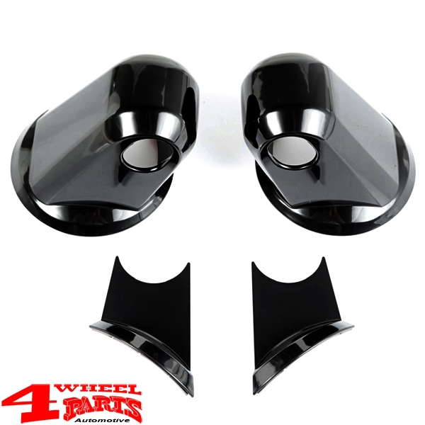 Mirror Arm Covers Paintable 2 pce. Wrangler JK year 07-18