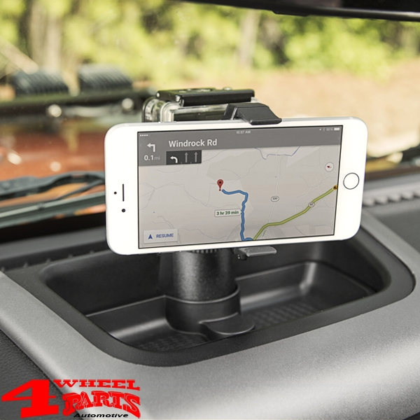 Dash Multi-Mount System incl. Handy Mount Kit Wrangler JK 11-18