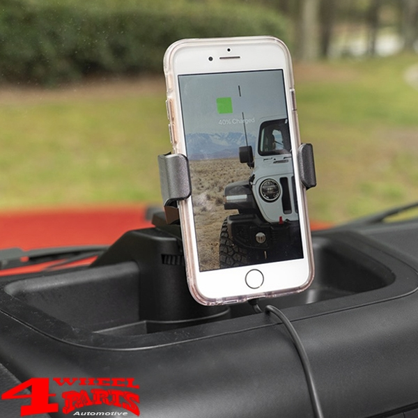 Dash Multi-Mount System with Wireless Charging Wrangler JK 11-18