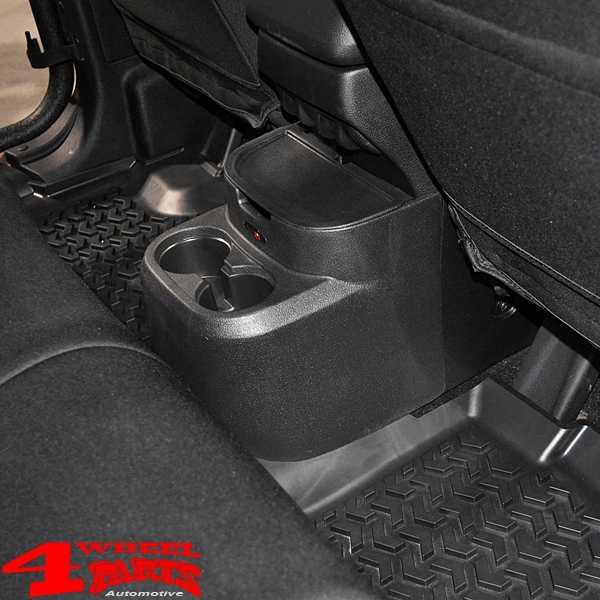 Rear Seat Organizer Black Jeep Wrangler JK year 11-18 4-doors