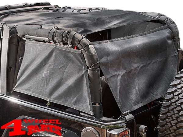 Cargo Eclipse Barrier Net on Roll Bar Wrangler JK year 07-18 2-doors