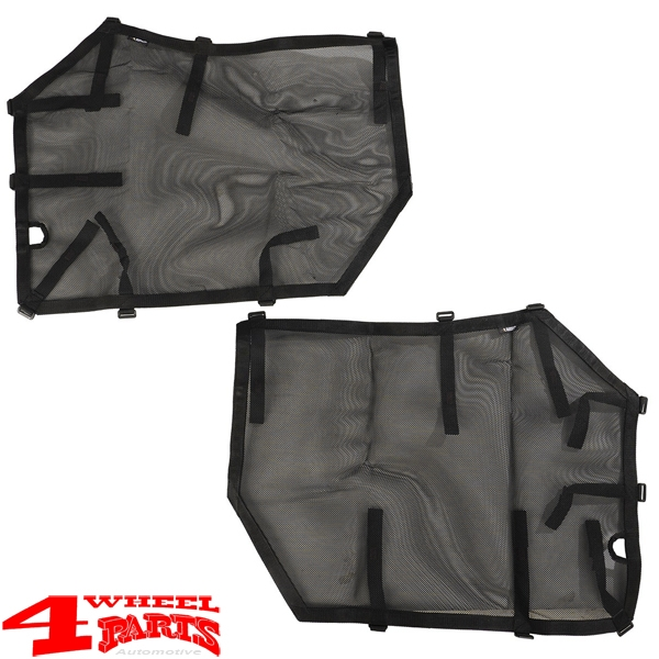 Element Doors Front Cargo Covers Wrangler JL year 18-19 2- or 4-doors