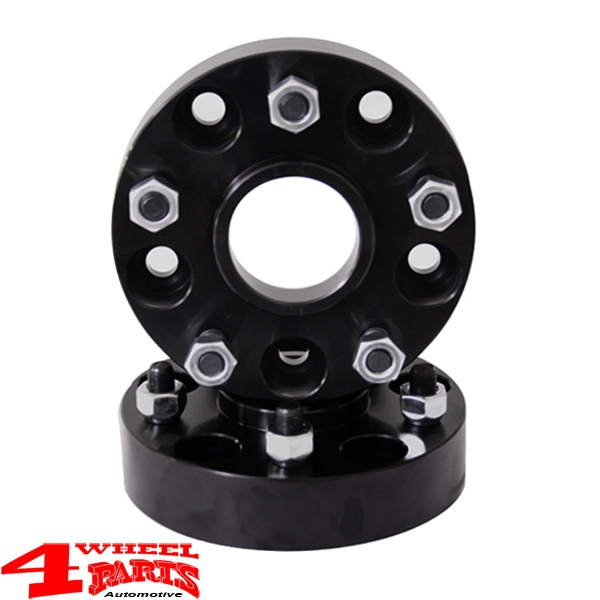 Wheel Spacer Kit 76mm 2 pce. Jeep Wrangler JK year 07-18