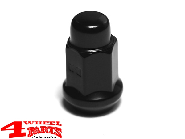 "Wheel Lug Nut Black for Steel Wheels 1/2"" Jeep"