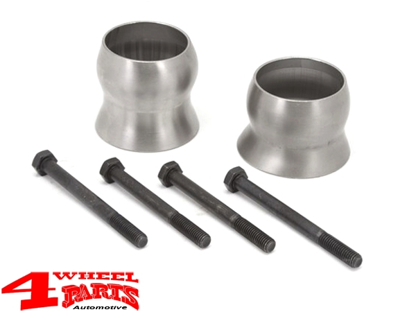 Exhaust Spacer for protection of CV Boot Wrangler JK year 12-18 3,6 L