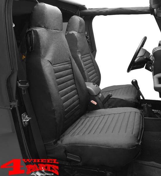 Sitzbezüge schwarz vorne HER SUZUKI GRAND VITARA