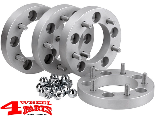 Wheel Spacer Kit 50mm with TÜV 4 pce. Suzuki Jimny GJ year 10.18-