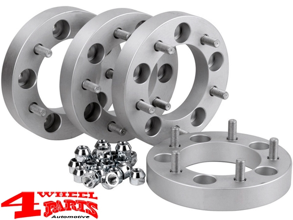 Wheel Spacer Kit 60mm with TÜV 4 pce. Grand Vitara Cabrio GT year 98-05