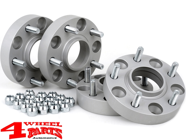 Wheel Spacer Kit 60mm with TÜV 4 pce. Wrangler JK year 07-18