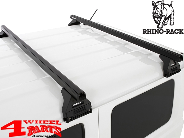 Dachträger Rhino Rack Kit + Heavy Duty Bars Jimny GJ Bj. 10.18-