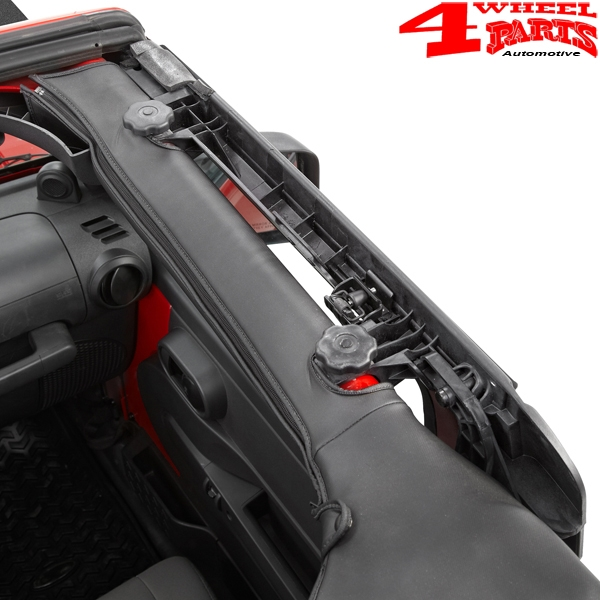 Soft Top Door Surround Kit Front Bestop Wrangler JK year 07-18 2-doors