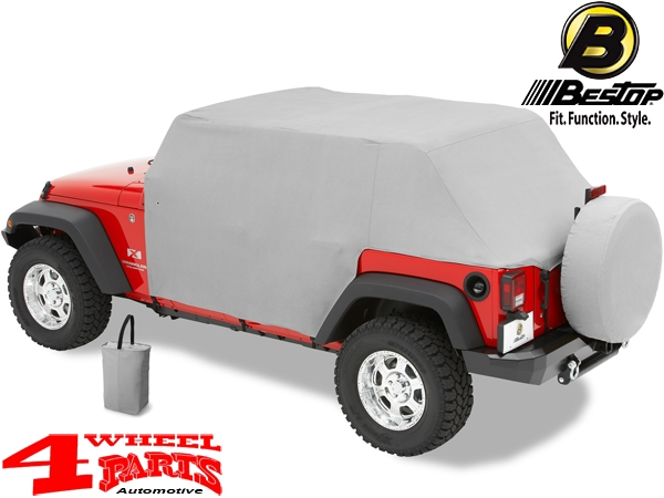 Trail Cover from Bestop Jeep Wrangler JK year 07-18 4-doors
