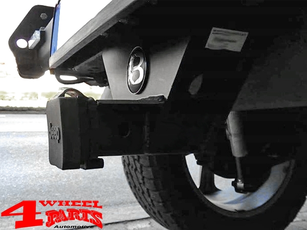 US Receiver Hitch Plug 2-Inch with Jeep Logo