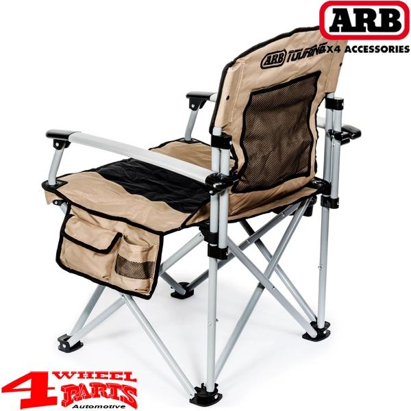 4 wheel parts arb camping stuhl mit festen armlehnen bis 150 kg belastbar f r expedition outdoor. Black Bedroom Furniture Sets. Home Design Ideas