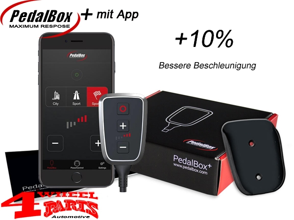 DTE PedalBox+ Wrangler JK year 07-11 2,8 L CRD + year 12-18 3,6 L