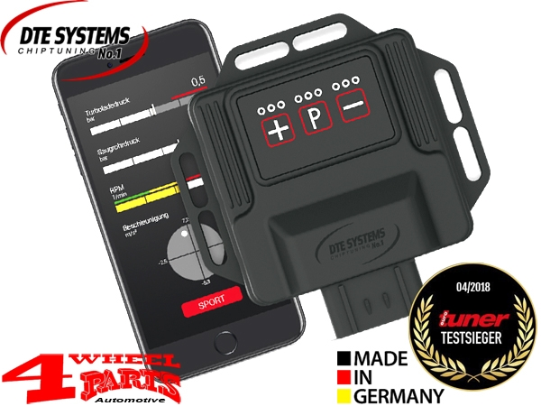 DTE Enginetuning PowerControl X Wrangler JK year 12-18 2,8 L CRD