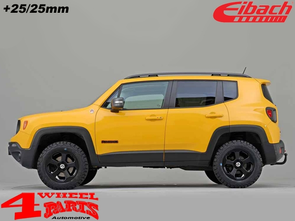 Jeep Renegade Lifted >> Lift Spring Kit Eibach With Tuv 25 25mm Renegade Bu Year 14 20 2wd