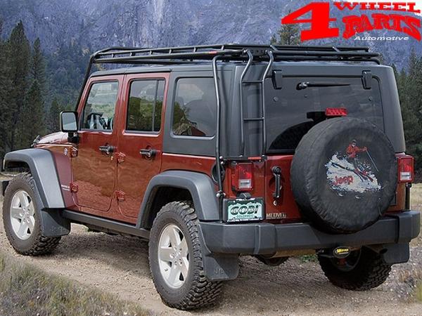 Overhead Roof Rack Stealth Gobi Jeep Wrangler Jk Unlimited Year 07 18 4 Doors 4 Wheel Parts