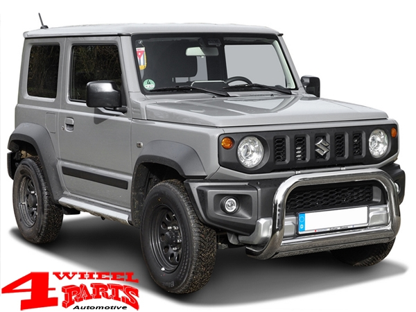 Front Tube Center Bumper Stainless Steel Suzuki Jimny GJ year 10.18-