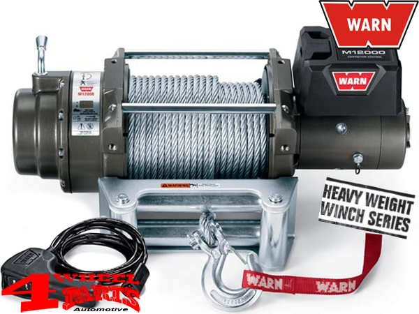 Seilwinde WARN Heavy Weight M12000 5440kg 12V