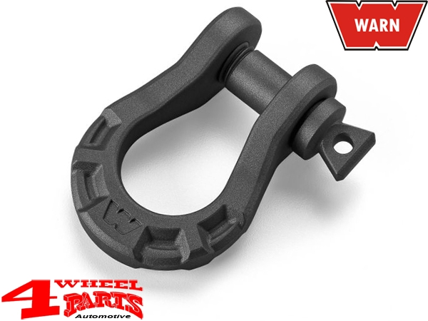 D-Ring ceramic coated WARN Premium 8165kg Ø 22mm