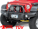 Front Winch Bumper AEV Premium with Over-Rider Wrangler JK year 07-18
