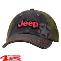 "Base Cap ""Jeep""  Black Olive Stone Washed von Mopar"