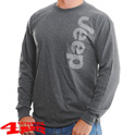 Ultra Cotton Long Sleeve Tee in Dark Heather from Mopar