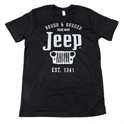 Jersey T-Shirt Rough & Rugged with Jeep Print from Mopar
