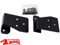 Mirror Relocation Bracket in Black Wrangler TJ year 03-06