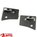 Windshield Light Brackets Black Textured Wrangler JK year 07-18