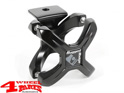 Mounting Bracket for Bumper Lights or GoPro X-Clamp Satin each Black Satin