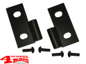 Door Hinge Set Lower in Black Jeep CJ + Wrangler YJ TJ year 76-06