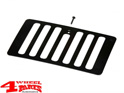 Hood Vent Cover in Black Jeep Wrangler TJ year 98-06