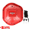 Differential Cover Heavy Duty Dana 44 Aluminum Red year 70-18