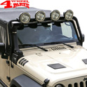 Light Bar Lowering Kit Black Jeep Wrangler JK year 07-18